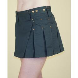Forest Green MiniKilt w/Antique Brass