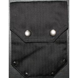 Small Pinstripe Pocket with Stylish Rivets