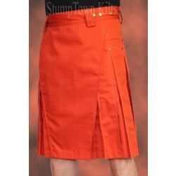 Men's Rust Kilt w/Antique Brass Rivets
