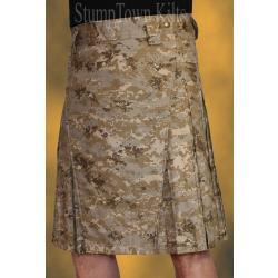 Men's 100% Cotton Ripstop Desert Digi Kilt