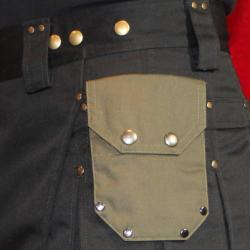 Small Pocket with Stylish Rivets