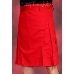 Men's Red Kilts