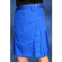 Men's Royal Blue Kilts