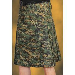 Men's 100% Cotton Ripstop Sherwood Digi Kilt